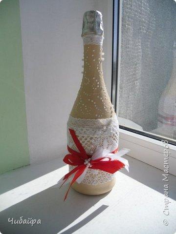 Бутылочка в подарок на свадьбу фото 2