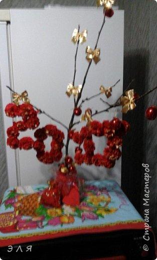 Новогодняя композиция  фото 1