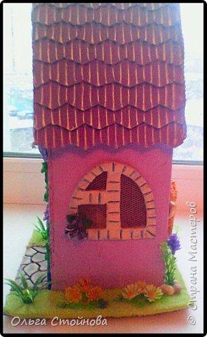 Наконец-то я доделала свой домик. Предыдущие домики можно увидеть здесь http://stranamasterov.ru/node/780497, http://stranamasterov.ru/node/793023, http://stranamasterov.ru/node/872262. фото 5