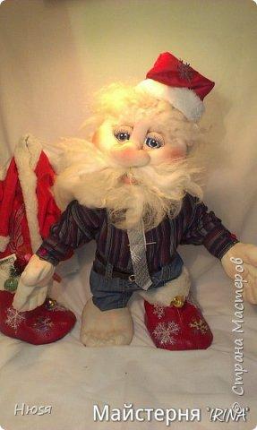 """...""""лёгким движением руки...."""" Дед мороз ...превращается..... Одежда съёмная. Высота :70 см  фото 6"""