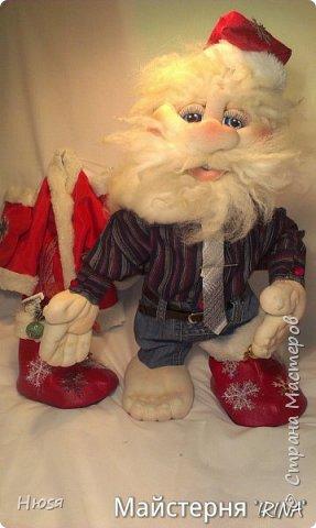"""...""""лёгким движением руки...."""" Дед мороз ...превращается..... Одежда съёмная. Высота :70 см  фото 4"""