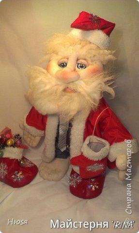 """...""""лёгким движением руки...."""" Дед мороз ...превращается..... Одежда съёмная. Высота :70 см  фото 5"""