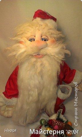 """...""""лёгким движением руки...."""" Дед мороз ...превращается..... Одежда съёмная. Высота :70 см  фото 2"""
