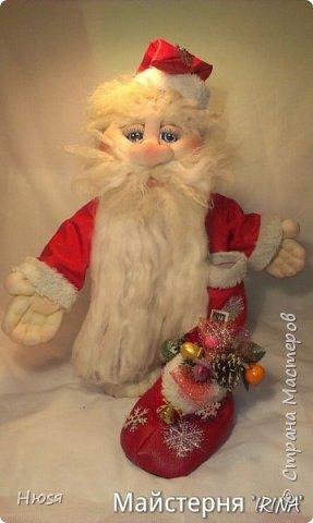 """...""""лёгким движением руки...."""" Дед мороз ...превращается..... Одежда съёмная. Высота :70 см  фото 9"""