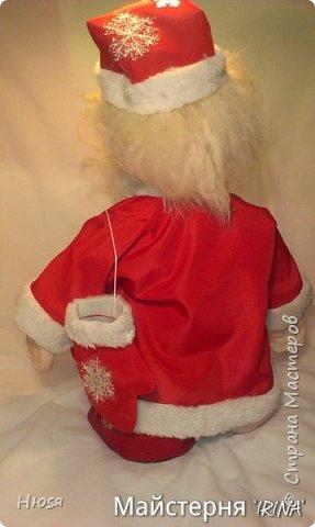 """...""""лёгким движением руки...."""" Дед мороз ...превращается..... Одежда съёмная. Высота :70 см  фото 10"""