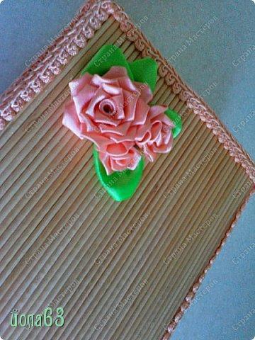 Доброго времени суток дорогие  творческие феи! Захотелось мне сделать вот такую шкатулочку из деревянных шпажек. Идея не моя ,на авторство не претендую.  фото 3