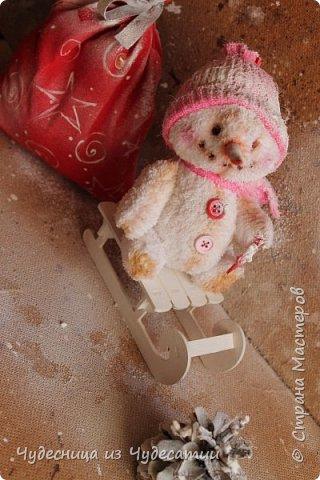 Мой новорожденный! Снеговик - саночник, особый вид снеговичных :))) фото 2