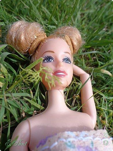 Всем доброго времени суток! Не было возможности выложить этот еще летний блог, но, как говорится, лучше поздно, чем никогда.  Куколка - Ирэн, барби - подделка. Из - за слабости шарниров ручка сломалась, но я на столько люблю эту куклу, что не могла отказаться от столь привлекательной модельки. Приятного просмотра!  фото 5