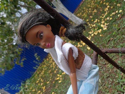 Доброго времени суток! Еще один поздний летний блог. На этот раз моделью выступает Алекс. Для этого костюма я создала чудесные брючки - клеш, все остальное покупное.  фото 6