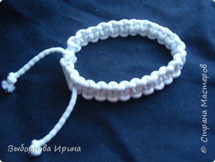 Плетеный браслетик