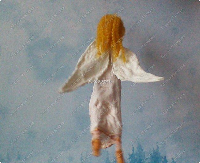 Очень меня впечатлили игрушки из ваты которые делает Олечка Симакова. А это мои пробы, эльфа-девочку я беленькую показывала, теперь она раскрашенная. фото 17