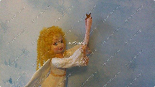 Очень меня впечатлили игрушки из ваты которые делает Олечка Симакова. А это мои пробы, эльфа-девочку я беленькую показывала, теперь она раскрашенная. фото 27