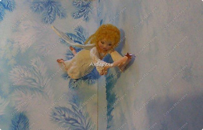 Очень меня впечатлили игрушки из ваты которые делает Олечка Симакова. А это мои пробы, эльфа-девочку я беленькую показывала, теперь она раскрашенная. фото 28