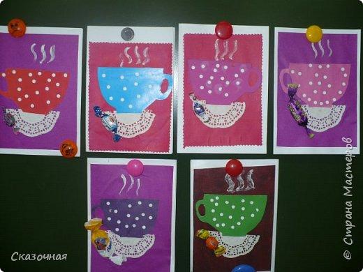 День матери. И мы с первоклассниками сделали такие вот открыточки Идею взяли из Интернета. фото 4