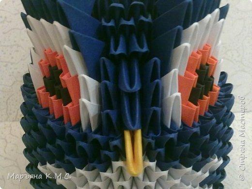 В последнее время меня очень интересуют совы. Рассматривая очередную фотографию совы с большущими глазами, решила сделать свою модульную с такими же большими глазами) фото 36