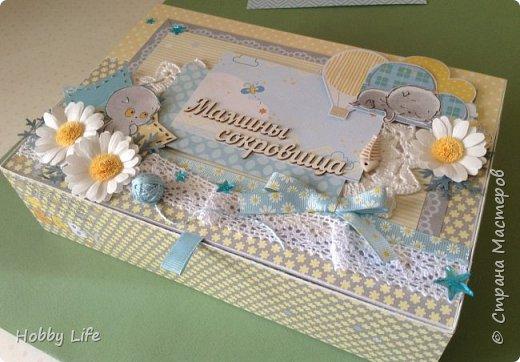 "Шкатулка ""Мамины сокровища"" фото 1"