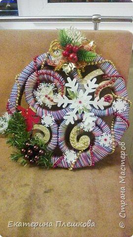 Новогоднее украшение фото 1