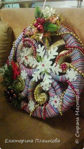 Новогоднее украшение фото 2