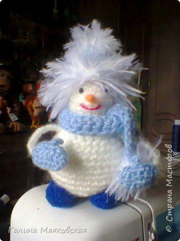 Привет всем! Представляю свою армию  снеговиков. Раньше я их не делала. Это первые. Часть из них уже покинули меня. фото 2