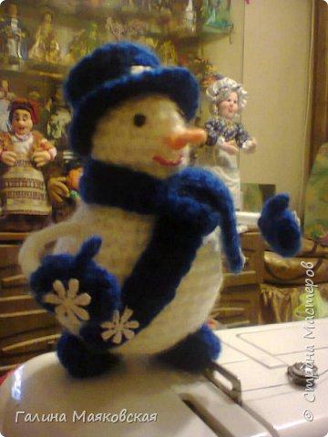 Привет всем! Представляю свою армию  снеговиков. Раньше я их не делала. Это первые. Часть из них уже покинули меня. фото 3