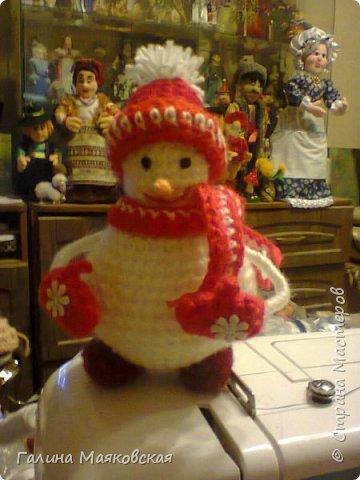 Привет всем! Представляю свою армию  снеговиков. Раньше я их не делала. Это первые. Часть из них уже покинули меня. фото 4