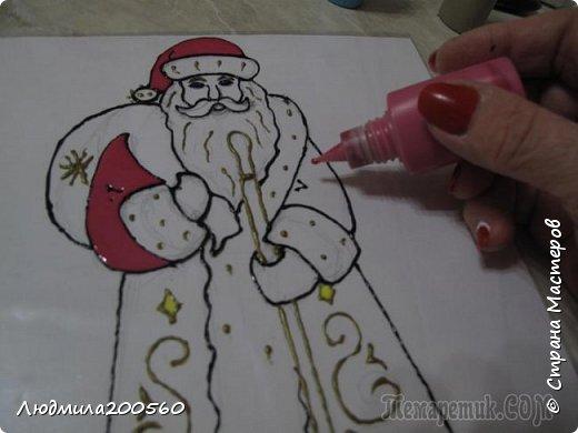 Рисуем Деда Мороза... фото 1