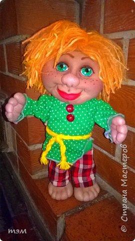 Продолжаю играть в куклы... Весьма интересное занятие. И полезное. Этот домовёнок скоро обзаведётся новым домом и хозяйкой, которая пишет очень светлые стихи. фото 9