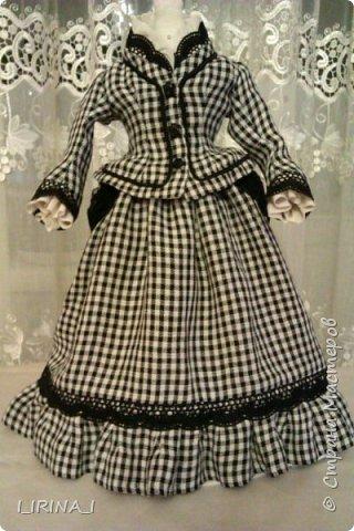 платье кукле 19 века  фото 5