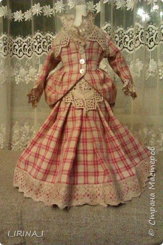 платье кукле 19 века  фото 7