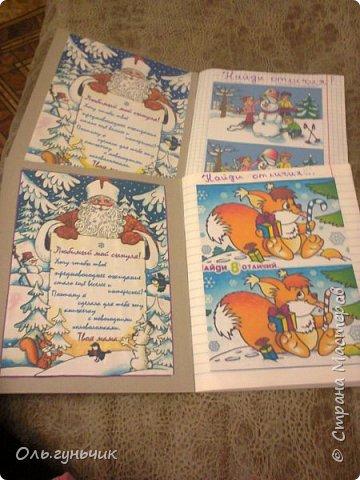 Здравствуйте!!! Наступил декабрь, значит у нас заработал Календарь ожидания Нового года!!! Спасибо большое за идею Марину Лужинскую! https://stranamasterov.ru/user/315411 Про наш календарь я уже писала, вот он: https://stranamasterov.ru/node/1058593 Каждое утро дети бегут к сапожкам, находят нужный и читают записку, которая там лежит. Она приводит их к заданиям на сегодняшний день, названию самого дня и вкусняшкам... фото 50