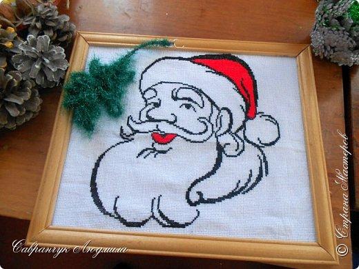 Дед Мороз (монохром)