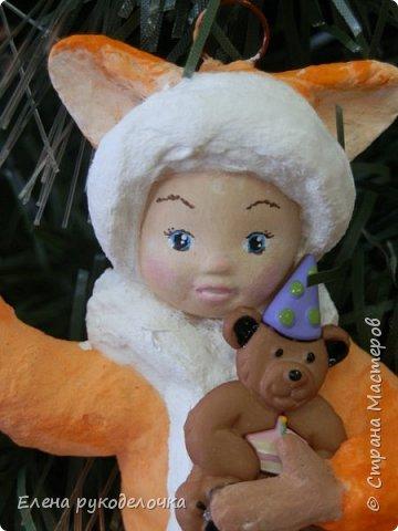Встречайте лисоньку Лизоньку. Лиза - потому что она очень походит на дочку моей знакомой, а её зовут Лиза. фото 4