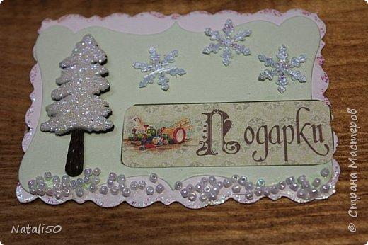Доброго всем вечера!! Вот несколько карточек новогодних у меня  появилось.. спешу поделиться.. №1 фото 2