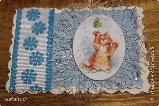 Доброго всем вечера!! Вот несколько карточек новогодних у меня  появилось.. спешу поделиться.. №1 фото 3