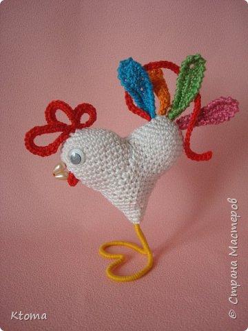 Петушок - сердце фото 3