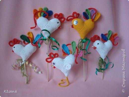 Петушок - сердце