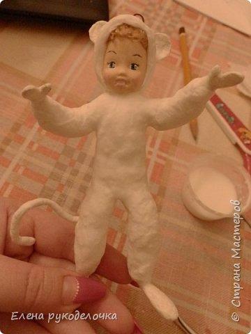 Здравствуйте, жители СМ. Сегодня хочу показать как создавался этот малыш. Может быть, кому-нибудь это пригодится. фото 17