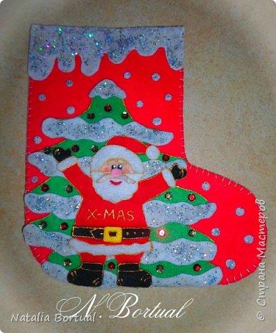 Сапожки к Новому году и Рождеству!!!! фото 1