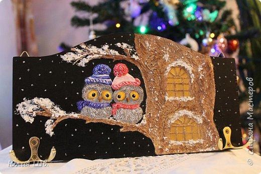 Доброго всем дня! Я сегодня с новыми работами для новогодних подарочков. Банка для кофе. Снеговик вылеплен из запекаемой полимерной глины. фото 23