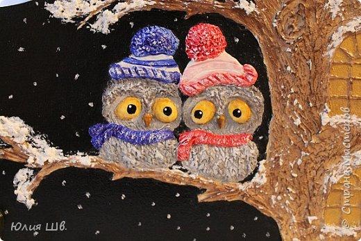 Доброго всем дня! Я сегодня с новыми работами для новогодних подарочков. Банка для кофе. Снеговик вылеплен из запекаемой полимерной глины. фото 24
