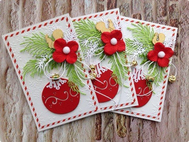 Хочу показать вам новогодние открытки. Затишье в моем блоге не означало, что я ничего не делаю:) Трудилась и продолжаю трудиться;) Открытки шейкеры для мужчин, поэтому чуток скромные по оформлению.  Бумага из серии любимых Galeria Papieru . фото 3