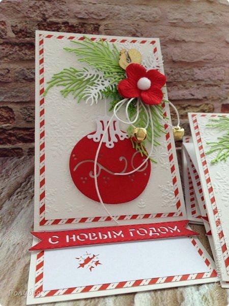 Хочу показать вам новогодние открытки. Затишье в моем блоге не означало, что я ничего не делаю:) Трудилась и продолжаю трудиться;) Открытки шейкеры для мужчин, поэтому чуток скромные по оформлению.  Бумага из серии любимых Galeria Papieru . фото 4