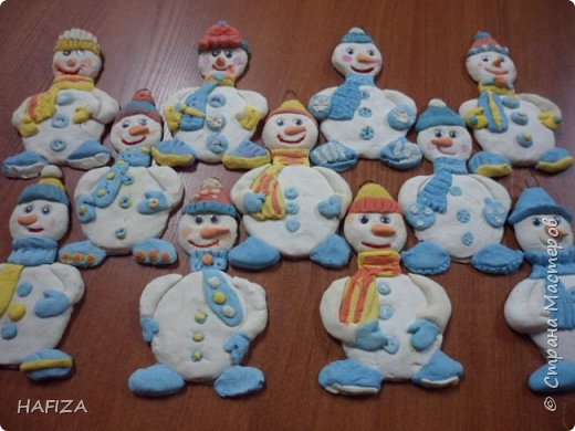 наши Снеговички