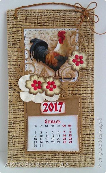 Сделала несколько календариков в качестве сувениров для близких и друзей. фото 10