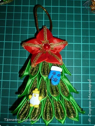 Всем здравствуйте)))Пришло время наряжать елку.Разнообразить новогодние игрушки решила вот такими подвесками ёлочками.Они двусторонние.В инете не встречала подобного мастер-класса и я решилась. Возможно кому-то пригодится. фото 37