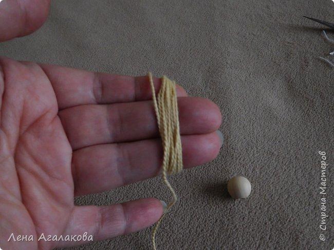 По просьбам выкладываю МК по плетению рождественского ангелочка из ниток. фото 48