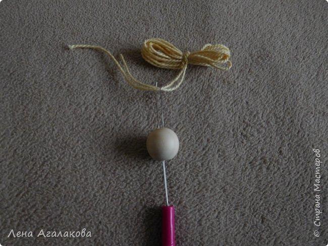 По просьбам выкладываю МК по плетению рождественского ангелочка из ниток. фото 50