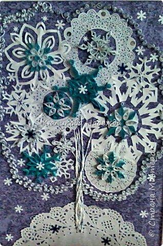 """С приходом зимы начинаем заранее готовиться к Новому году. Торопимся успеть сделать для родных и близких милые подарочки, сувениры, оформить кабинет, чтобы было настроение творить. Эти """"зимние"""" буквы для стенда сделала Яна А. фото 6"""