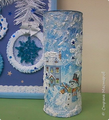 """С приходом зимы начинаем заранее готовиться к Новому году. Торопимся успеть сделать для родных и близких милые подарочки, сувениры, оформить кабинет, чтобы было настроение творить. Эти """"зимние"""" буквы для стенда сделала Яна А. фото 35"""