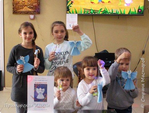 Вот таких ажурных и воздушных ангелов мы создавали с ребятами))) фото 2